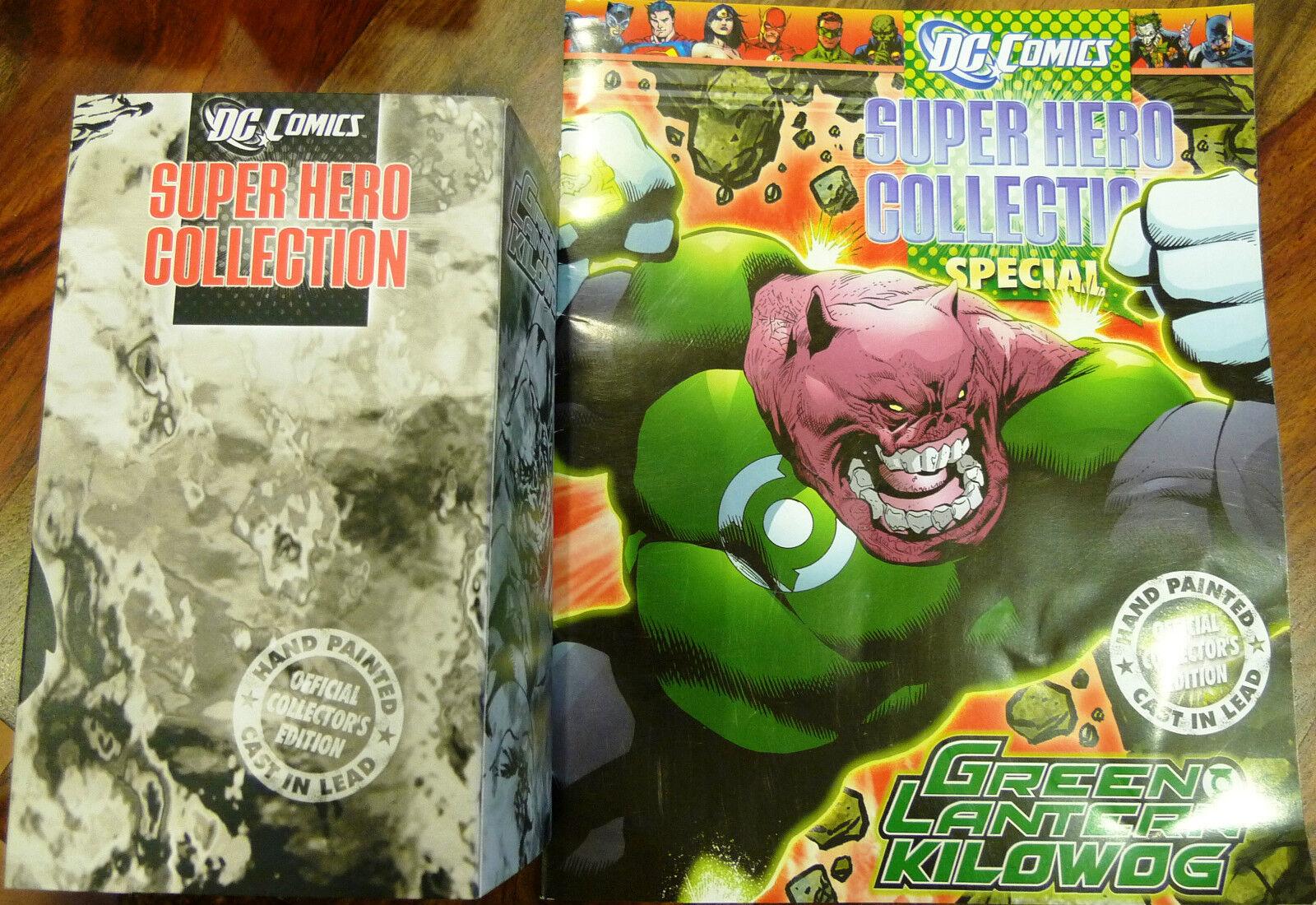 Dc comics superhelden - sammlung thema spezial  Grün lantern kilowog - eaglemoss