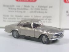 Klasse: Wiking Mercedes 280 SL champagner metallic in OVP