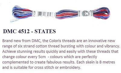 Coloris Embroidery Thread States