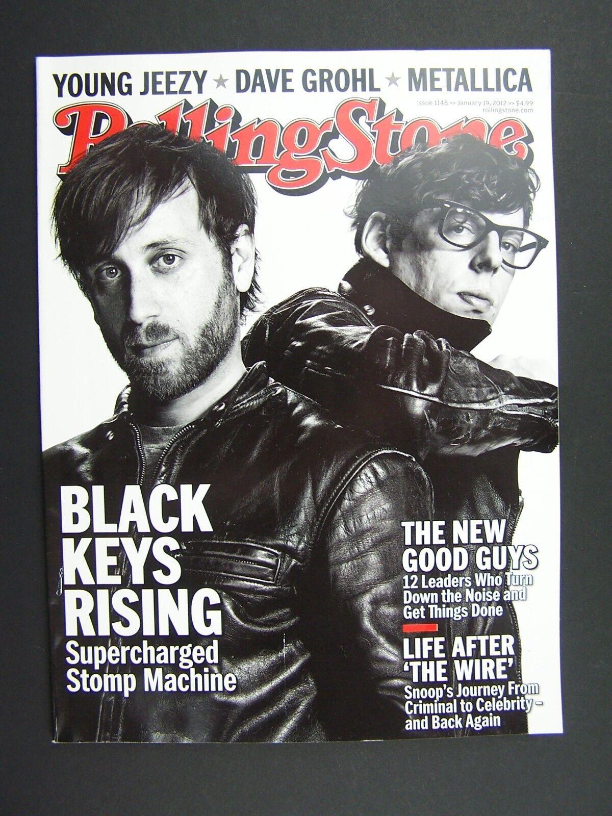 Rolling Stone Magazine Issue 1148 January 19 2012 Black