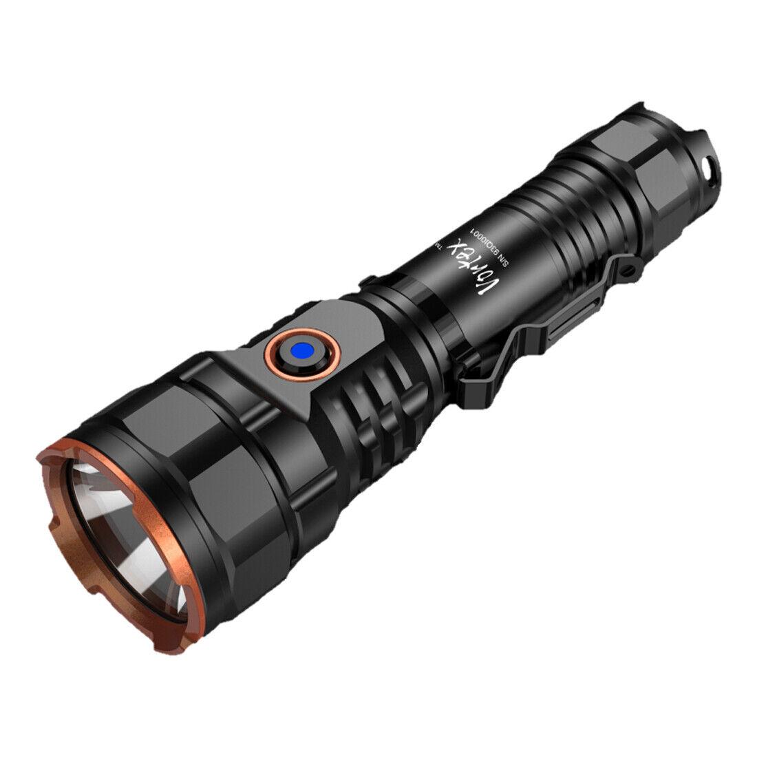 VORTEX Taschenlampe mit Akku - dimmbar - vers edene Modi - max. 4200 Lumen