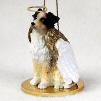 Australian Shepherd Brown Angel Ornament