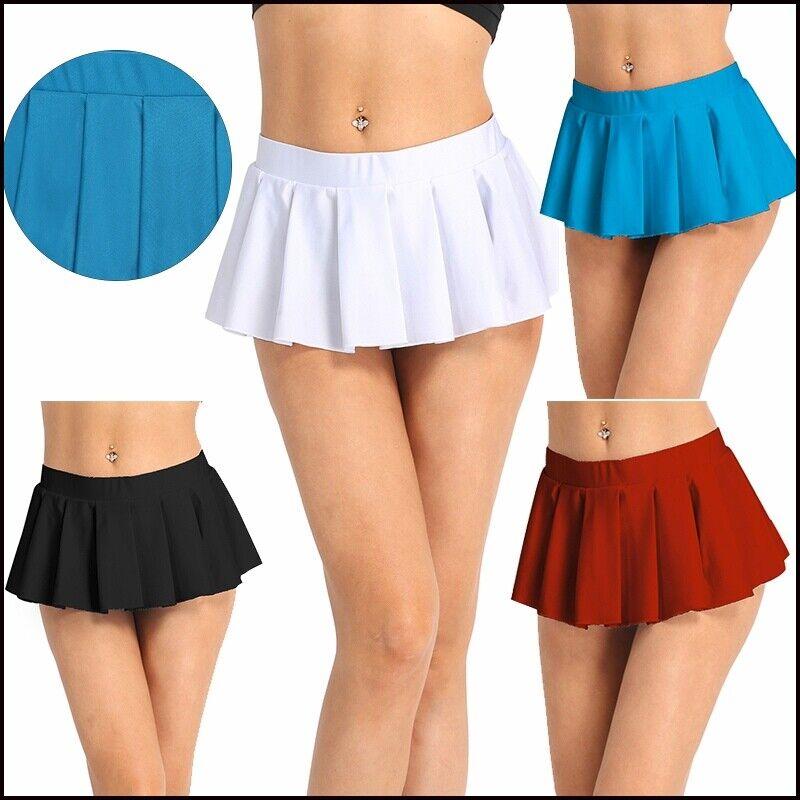 Avidlove Women Role Play Mini Plaid Skirt Polyester Mini Schoolgirl Lingerie