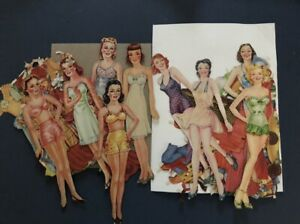2-cut-sets-of-Paperdolls-1940s