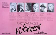 Andy Warhol's Women ORIGINAL A 3 Kinopl. Candy Darling