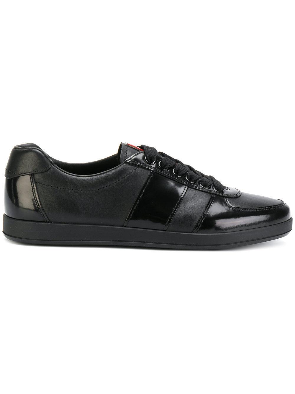 PRADA  Men's shoes SNEAKERS    мужская КРОССОВКИ  男鞋 紳士靴 100%Aut CI8