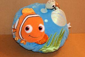 Disney-Store-Nemo-Cushion-Pillow-turtle-in-pocket-Plush-Soft-Toy-Large-15-034