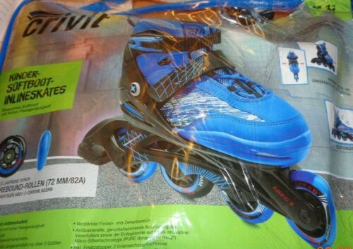 Inline-Skates Softboot Inlineskates für Kinder,Mod VI,Gr.33-37,verstellbar,,ABEC 5,NEU!