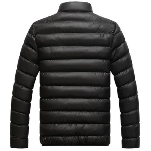 Herren Warm Winterjacke Daunen Mantel Dick Freizeit Jacke Steppjacke Outwear
