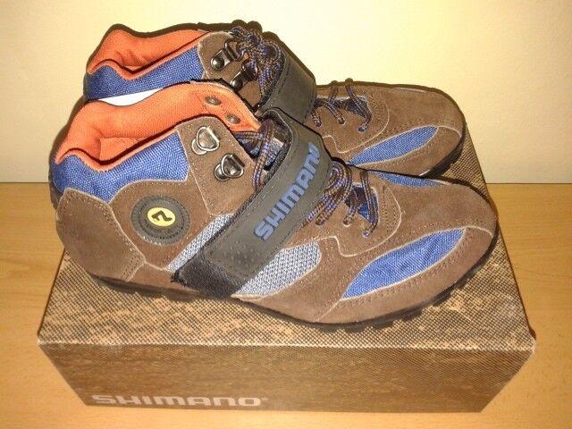 Shimano SH-M055 Women Mountain Bike Cycling shoes Size 8.5, 6