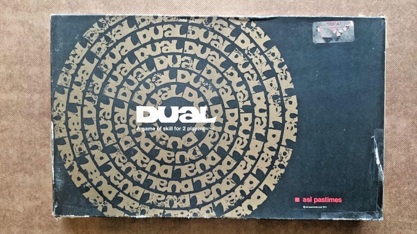 Vintage Duel Juego By Asl 1971