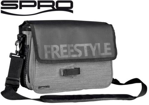 Kunstködertasche Angeltasche für Köder Spro Freestyle Jigging Bag 30x23x10cm