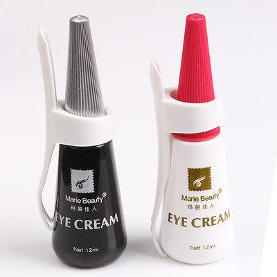 New Eyelash Adhesive Glue Waterproof Black and White 12ml Fashion Makeup Tool