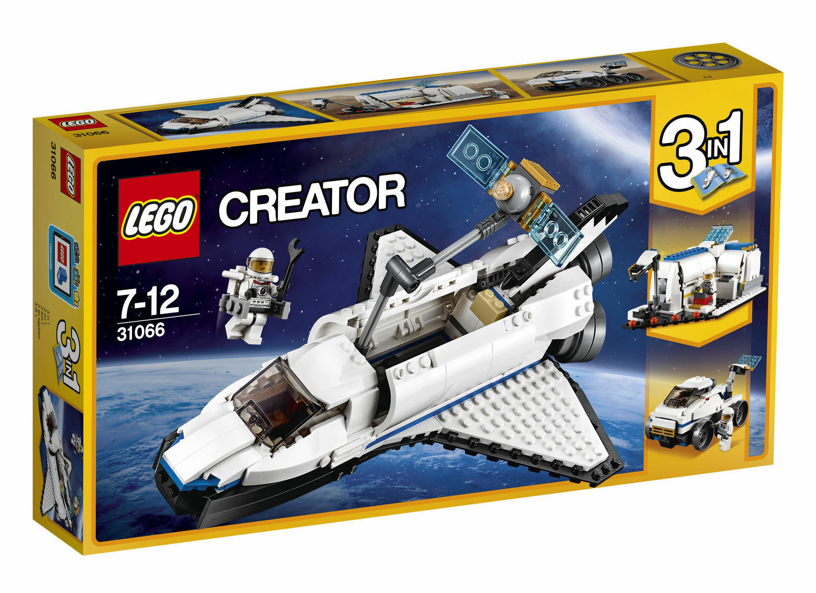 LEGO Creator 31066 - Space Shuttle Explorer - New + Sealed   .