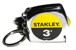 Stanley-3-Foot-Keychain-Tape-Rule-3-039-9m-STHT39137-Tape-Measure-1210