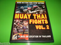 Muay Thai Fights - Volume 2 (dvd, 2007) Filmed On Location In Thailand -