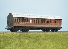 Ratio 723 LMS (ex Midland) Clerestory Coach- Brake 3rd Plastic Kit 00 Gauge T48P