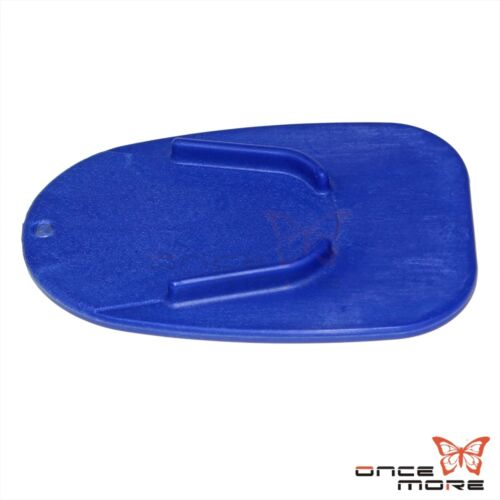 Motorcycle Non-slip Gear Kickstand Plate Pad Support Soft Ground Outdoor Parking
