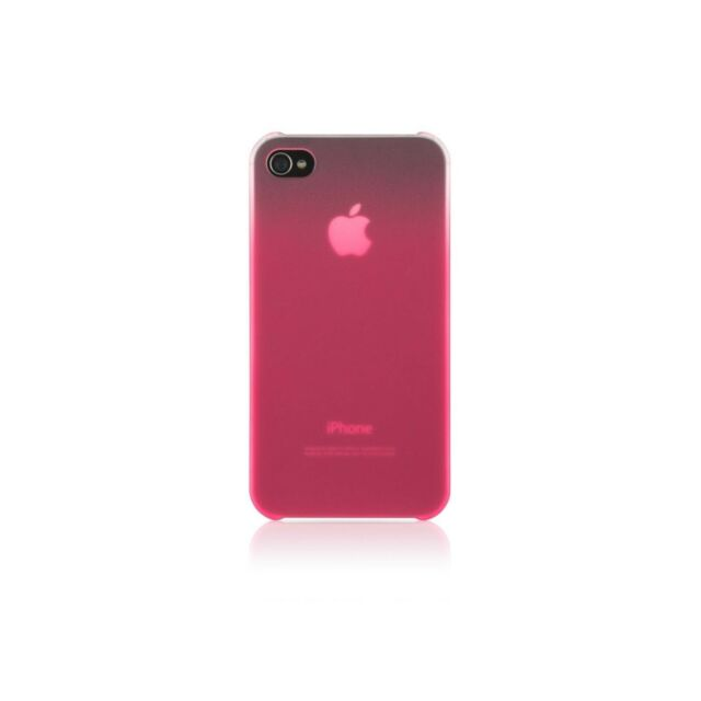 BELKIN CASE FOR IPHONE 4 4S ESSENTIAL 016 GRADIENT PINK PAPARAZI NEW F8Z846QEC00