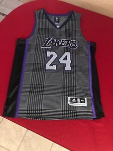 Los Angeles Lakers Kobe Bryant 24 Adidas Jersey Limited Edition ...