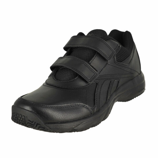 Men Reebok Work N Cushion KC 2.0 V70734 Black Sticking Strap Walking Shoes  13 for sale online  6a1b6198a
