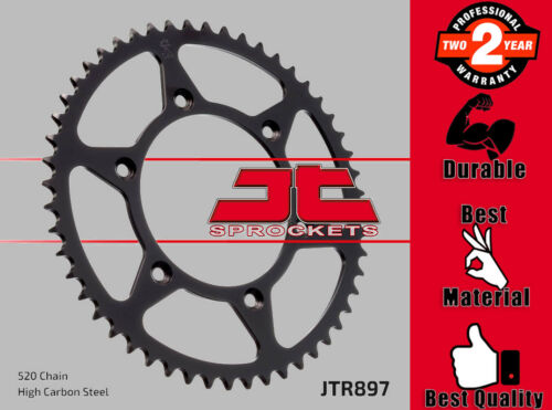 JT Rear Sprocket 45T 520P High Carbon Steel for KTM EXC
