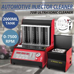 Original-Automotive-TQ-6C-Car-Fuel-Injector-Ultrasonic-Cleaner-Tester