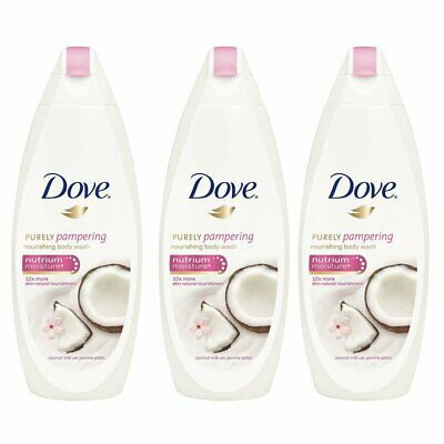 Dove Purely Pampering Coconut Milk With Jasmine Petals Body Wash 500ml 3 Pack 690000644573 Ebay