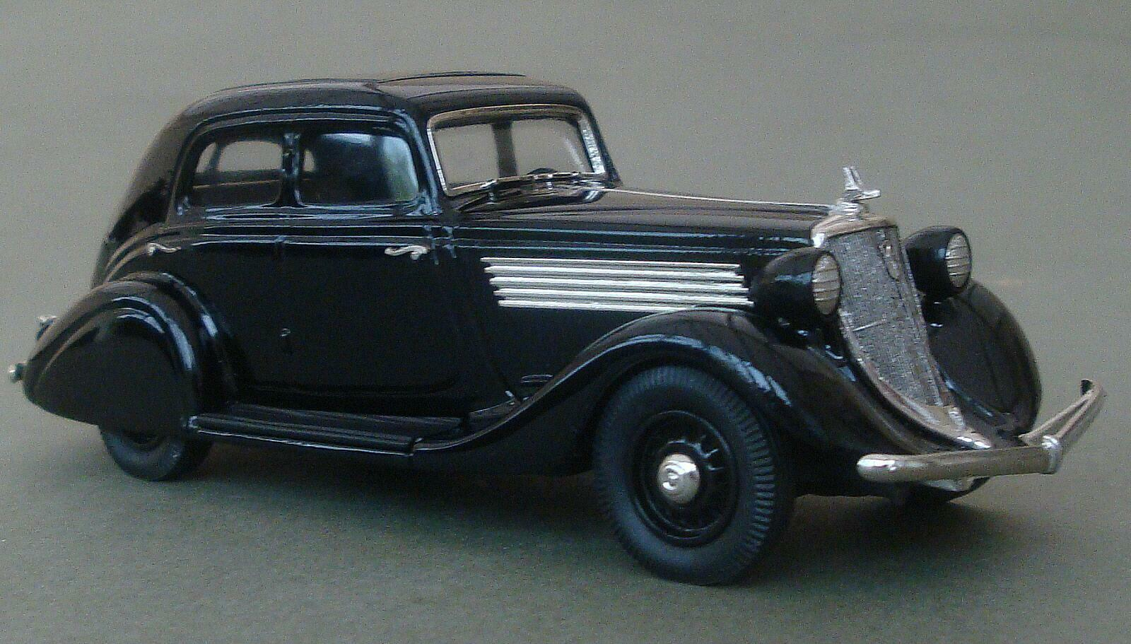 Brooklin modelos 1934 Studebaker comandante Land Cruiser Sedan. nero