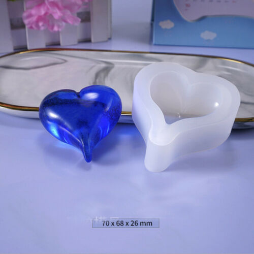 Mould Casting  Pendant  Heart  Mold  Jewellry  Silicone  Resin  Craft  Epoxy