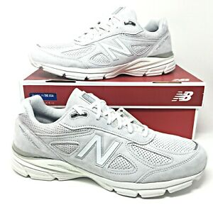 reputable site aaae7 e9a27 Details about New Balance 990 Men's Running Shoes Size 14 D USA Artic  Fox/Grey Suede M990AF4