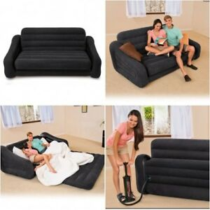 Inflatable Sofa Bed Queen Futon Air