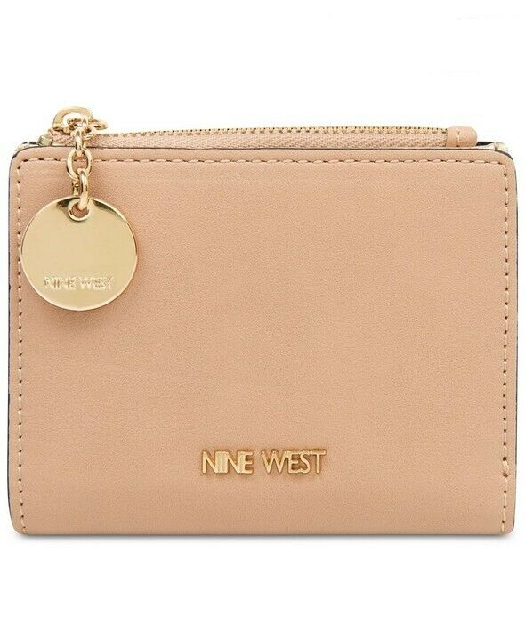 Nine West Small Accessories Slim Zip Wallet - Barely Nude New With Tags