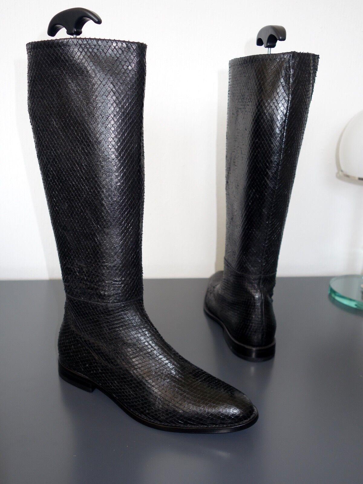 STRENESSE Stiefel  -  Schlangenleder  -  Größe 38
