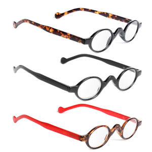 81f5aca5b2 Image is loading Retro-Reading-Glasses-Classic-Vintage-Style-Small-Round-