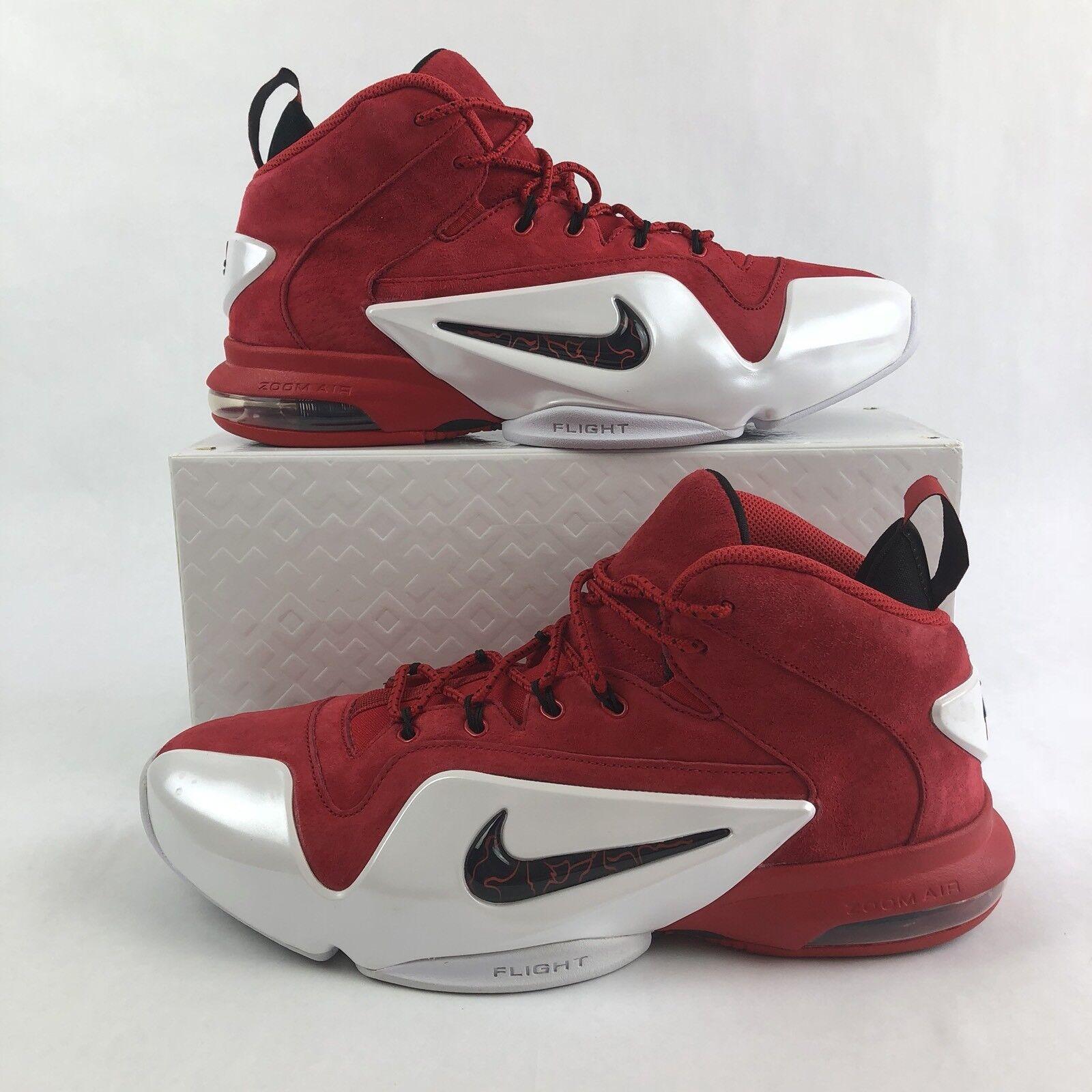 Nike Zoom Penny VI 6 University rouge/noir-blanc 749629-600 homme Sz 10.5