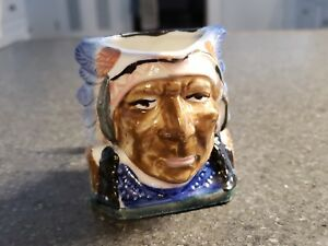 Details about MADE IN OCCUPIED JAPAN INDIAN HEAD CUP VASE, CONTAINER, TOBY  MUG