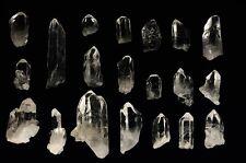 Arkansas Crystal Quartz - Small Points from Avatar Crystal Mine - 100 Pieces