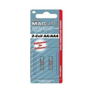 2019 Nouveau Style Maglite Aaa Ou Au-dessus De La Moyenne De Remplacement Ampoule Mini-mag Aaa Ou Au-dessus De La Moyenne Ampoule 2-pack Xénon Nouveau-afficher Le Titre D'origine