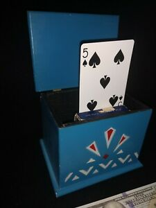 Vintage-U-F-Grant-Unique-Card-Rise-Chest-Estate-1960-ca