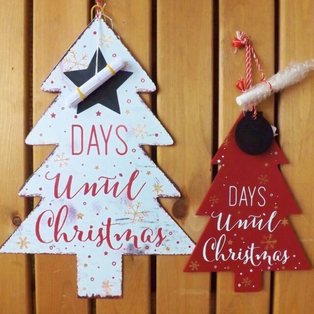 jours avant Décoration de Noël Minuteur Calendrier de l'Avent tableau noir arbre