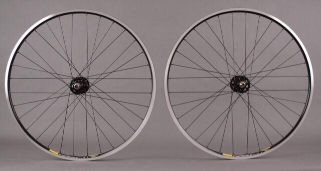 Mavic Open Pro Rims Black Fixed Gear Track Bike SingleSpeed Wheelset 32h DT 2.0