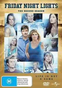 Friday-Night-Lights-Season-2-DVD-2010-4-Disc-Set-FREE-POST