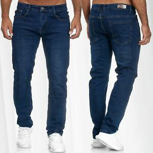 Herren-Jeans-Regular-Fit-Hose-Used-Stretch-Ubergroesse-W34-W46-Plus-Size-Stretch