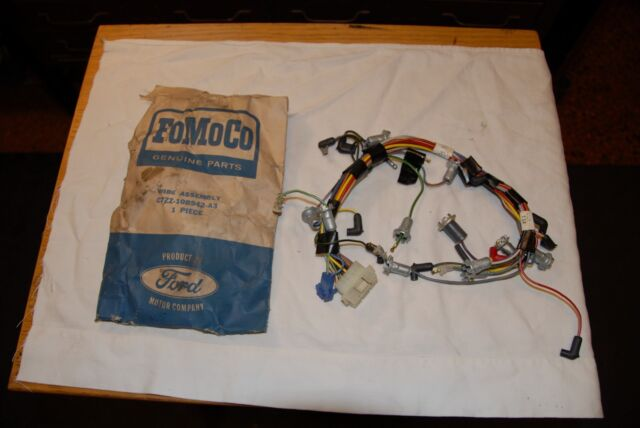 ford mustang dash cluster wiring 1967 c7zz 10b942 a3 nos ebay instrument cluster with tachometer brand new lowest price