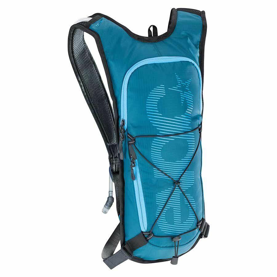 nuovo Evoc CC 3L Plus 2L Bladder Hydration Pack Neon blu One Diuominiione