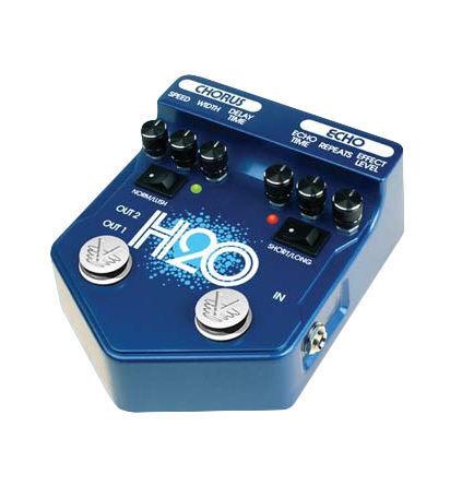 visual sound v2 h2o echo guitar effect pedal for sale online ebay. Black Bedroom Furniture Sets. Home Design Ideas