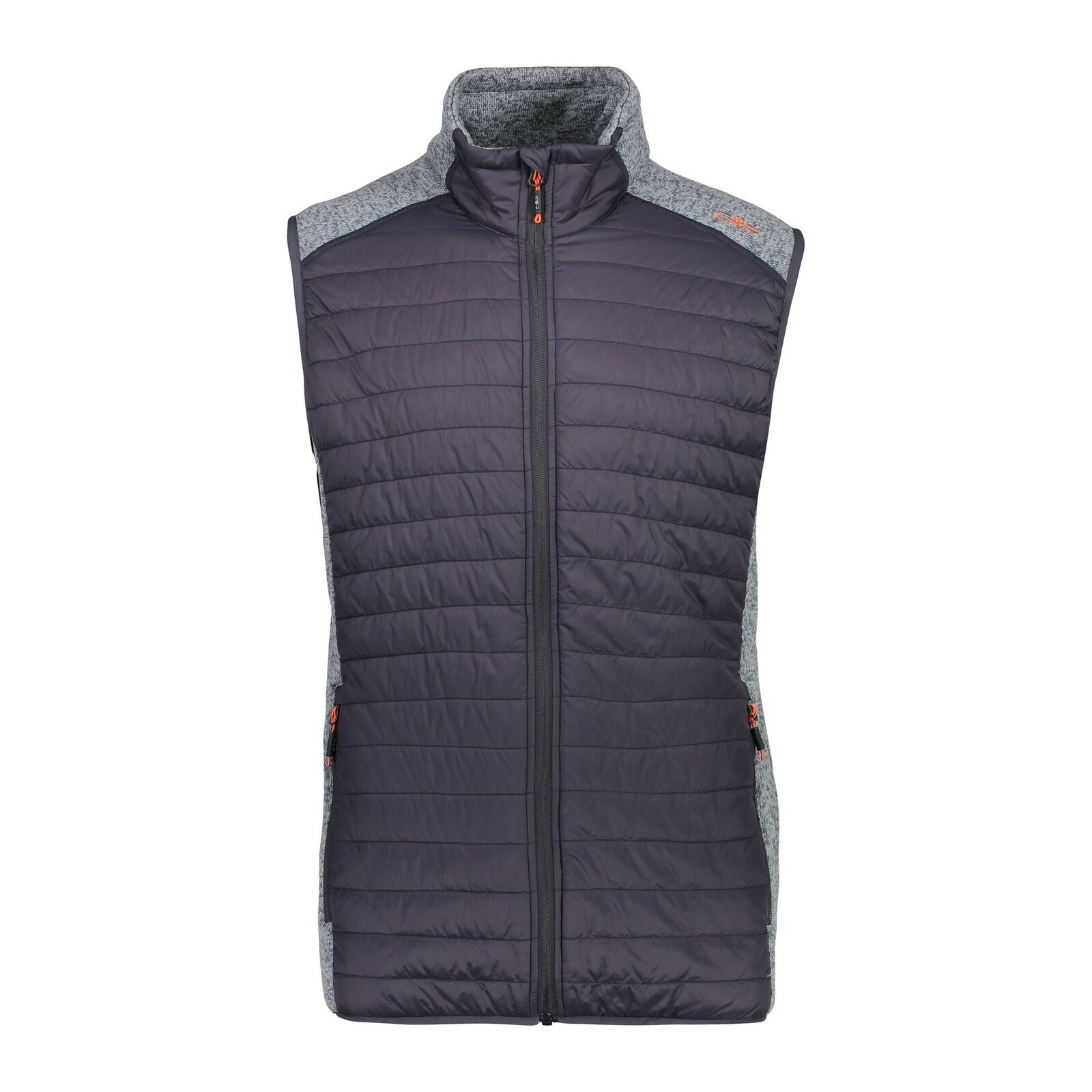 CMP hybridweste vest man waistcoat  Hybrid Grey Breathable heating insulation  a lot of concessions
