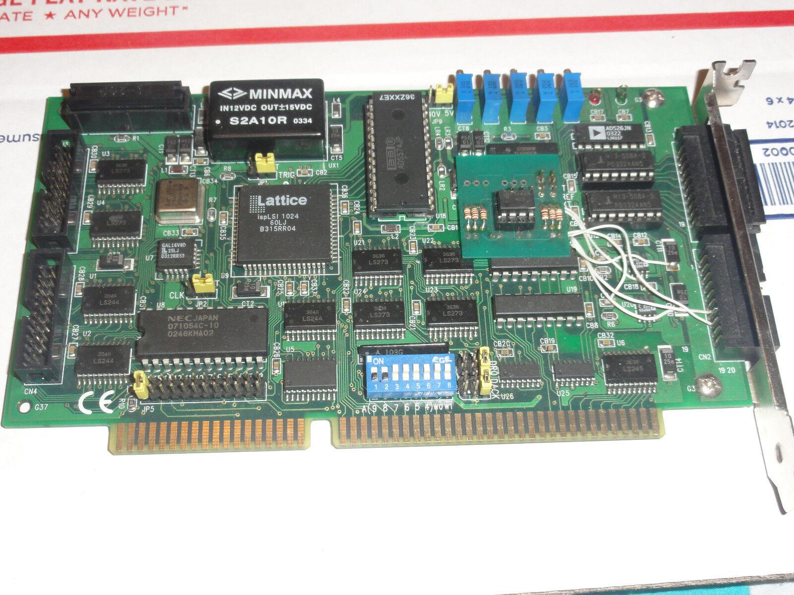 Reparaturservice für Full Auto   X29 Laser Show Designer ISA Karte DAC