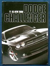 Prospekt brochure 2009 All New Dodge Challenger  (USA)
